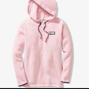 🆕 LIMITED TIME PINK POLAR FLEECE PULLOVER